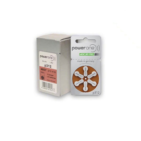 Power one 312 hearing aid batteries - Sounds of Life